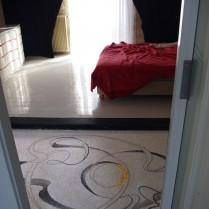 Pavement de sol en mosaïque de marbre pour chambre à coucher