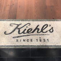 Pavement de sol en mosaïque de marbre, pour le magasin KIELH'S à Paris
